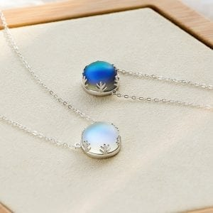 Aurora Moonstone Necklace