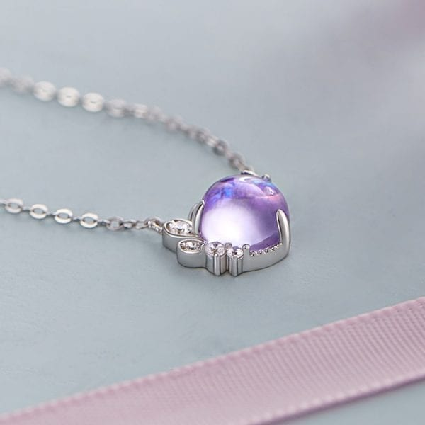 Bohemia Infinity Lavender Necklace