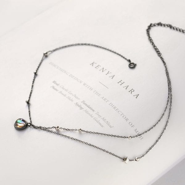 4 Thaya Star Planet Space Milky Way 100 s925 Silver Pendant Necklace Galaxy Crystal Black Chain for