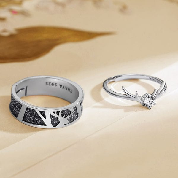 Fawn and Elk Ring