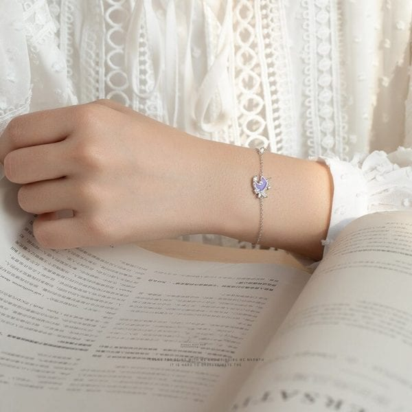 Purple Unicorn Bracelet